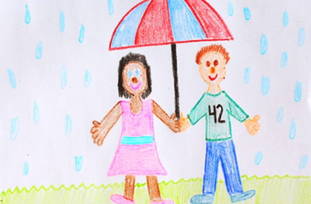 Display your kids' artwork: Brighten up your home for under a fiver