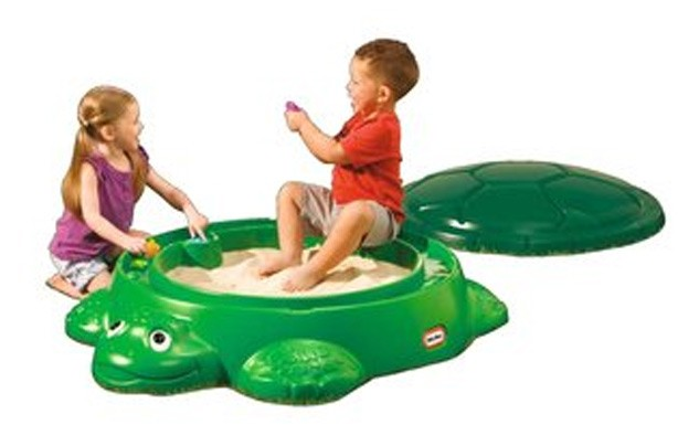 50 outdoor toys for Summer: Little Tikes Anniversary Turtle Sandbox