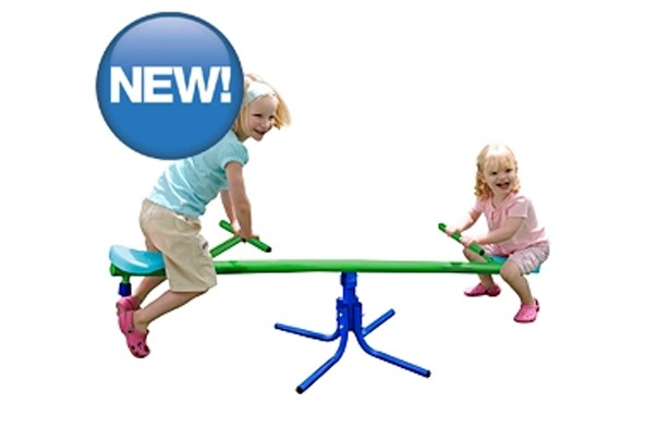 50 outdoor toys for summer: Junior garden seesaw