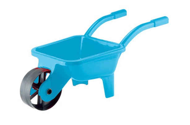50 outdoor toys for summer: Sizzlin' Cool blue wheelbarrow