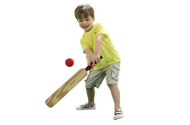 50 outdoor toys for summer: Stats Foam cricket bat and ball