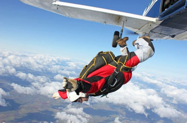 Jump out of a plane!