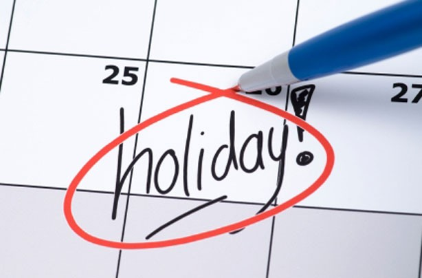 Take regular holidays