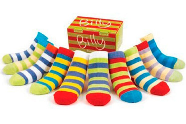 Baby oddsocks, £11, from thekidswindow.co.uk