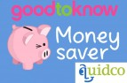 goodtoknow cashback with Quidco