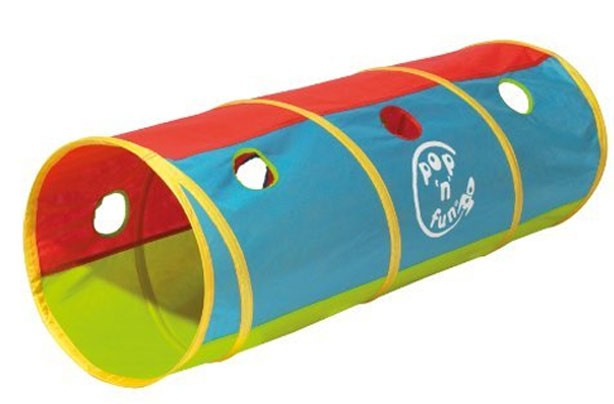 50 outdoor toys for summer: Worlds Apart generic pop-up tunnel