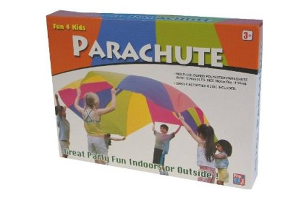 50 outdoor toys for summer: Free Time 4 Kids parachute