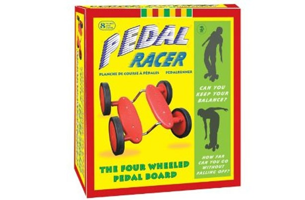 50 outdoor toys for summer: Pedal racer