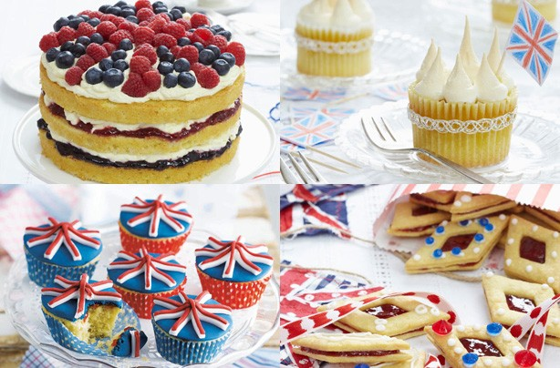 Jubilee cakes and bakes