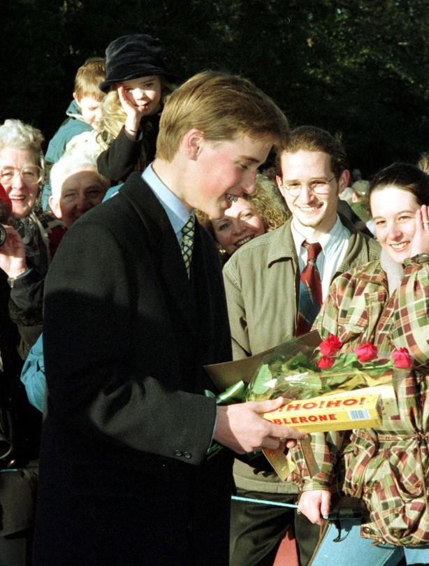 Prince William: 1996