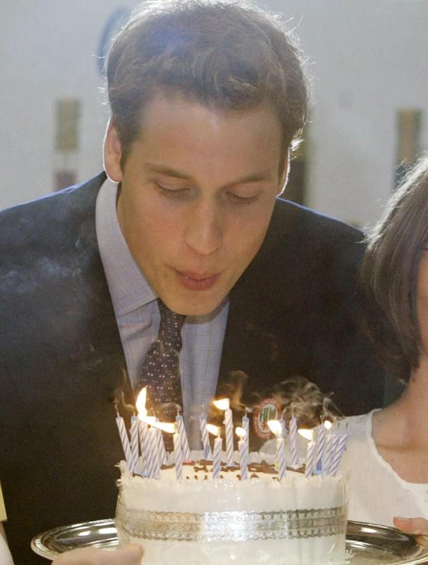 Prince William: 2003