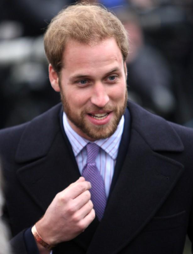Prince William: 2008