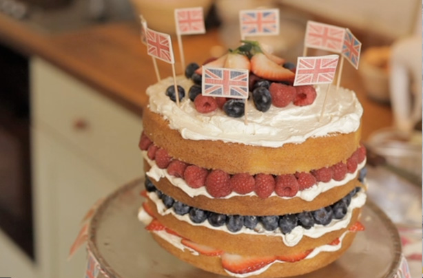 Fiona Cairns' Victoria sponge with summer berries recipe - goodtoknow