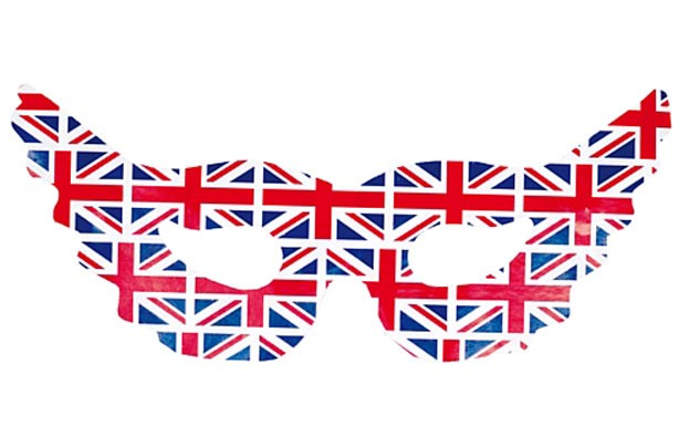 Union jack masks