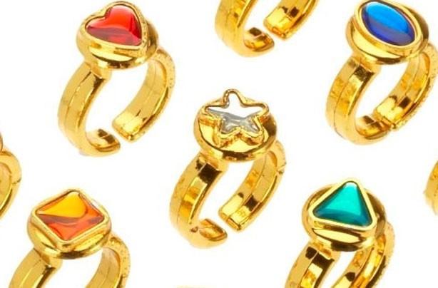 Princess rings - jubilee party bag ideas