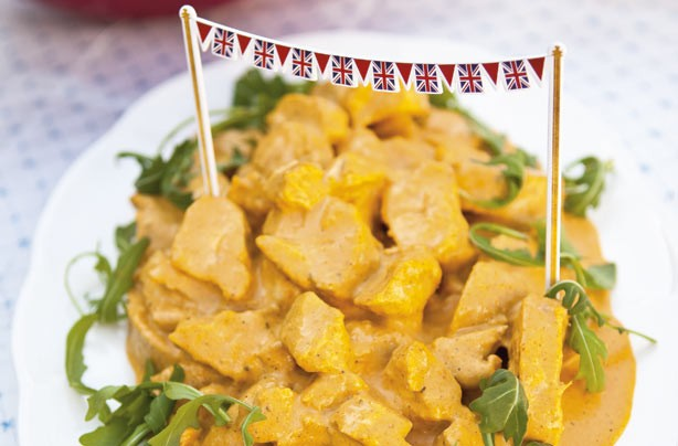 Jubilee coronation chicken