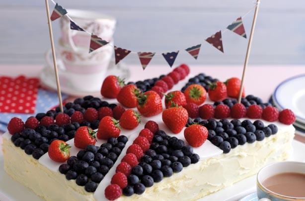 Union Jack Jubilee Cake