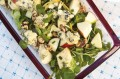 Stilton, apple and walnut salad