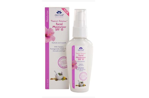 Moisturise: DermaE facial moisturiser
