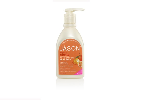 Body wash: Jason citrus body wash