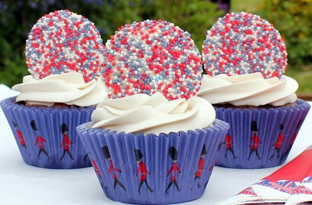 Jubilee jazzie cupcakes