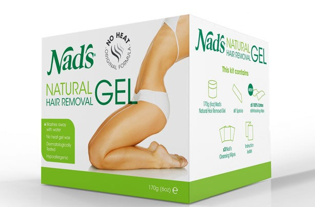 Hair removal: Nads natural gel hair removal