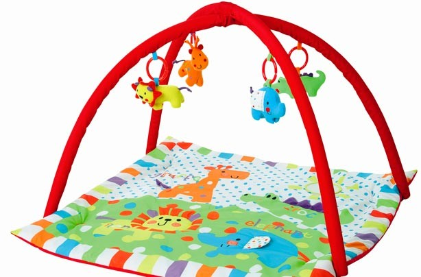 10 Play Mats For Babies And Toddlers Animal Baby Gym