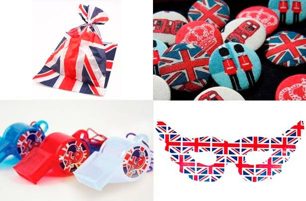 Jubilee party bag ideas