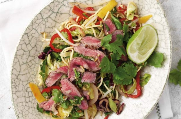 Easy Thai beef stir-fry