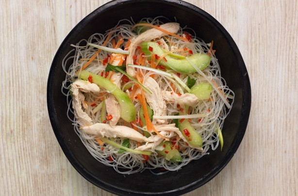 Leftover chicken recipes: Chicken noodles