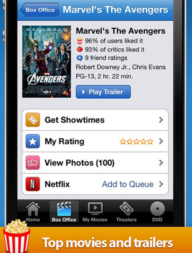 Movies by Flixster app