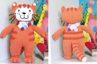 Poppy cat knitting pattern - goodtoknow
