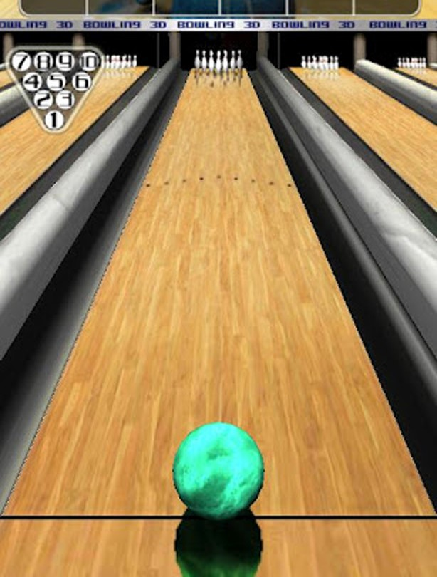 3D Bowling app