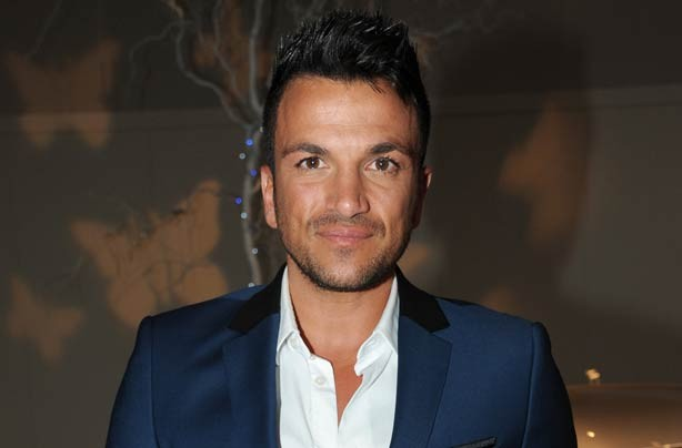 Peter Andre at the Caudwell Children's Diamond Butterfly Ball at Battersea