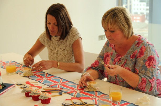 Jubilee Queen of Cakes judging day