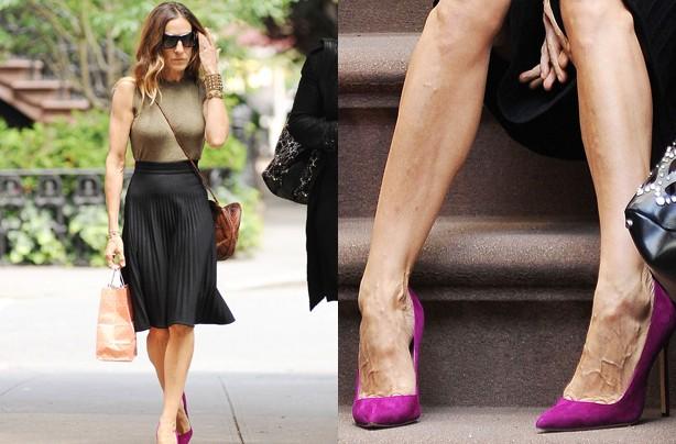 Sarah Jessica Parker's feet
