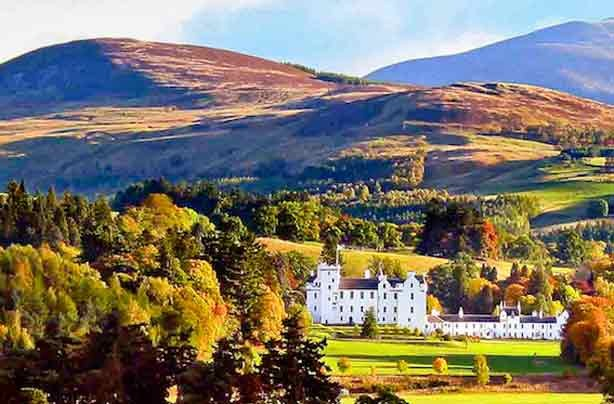 Cheap days out Blair Castle