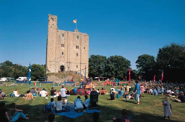 Cheap days out Hedingham Castle_credit_Visit Britain_Richard Surman