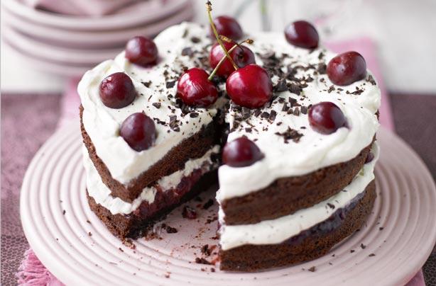 Spanish Recipes Black Forest Cake