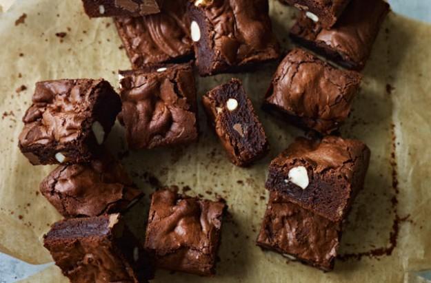 triple chocolate brownies jo wheatley