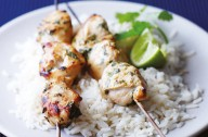Lemongrass and Lime Herby Chicken Kebabs