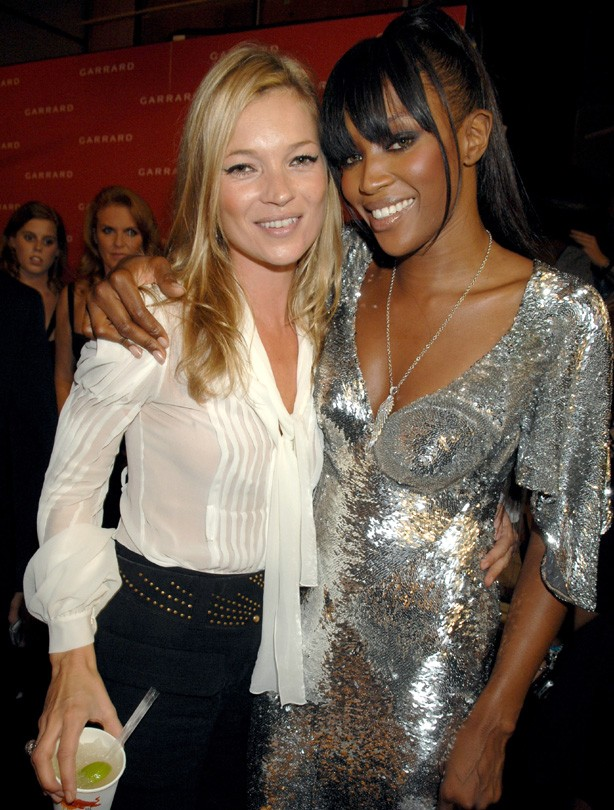 Kate Moss and Naomi CampbellNaomi Campbell Kate Moss
