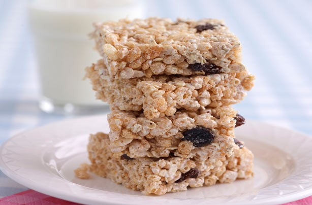 Marshmallow-Fluff-Crispie-Bars