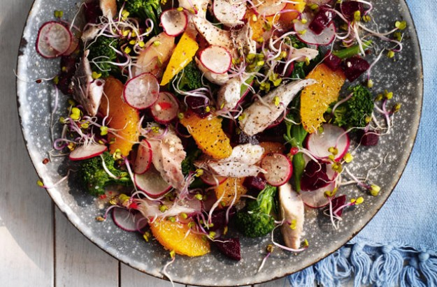 Summer Mackerel Salad