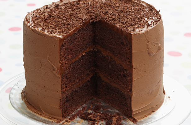 French Chocolate Layer Cake