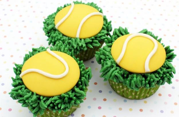 tennis cupcakes recipe