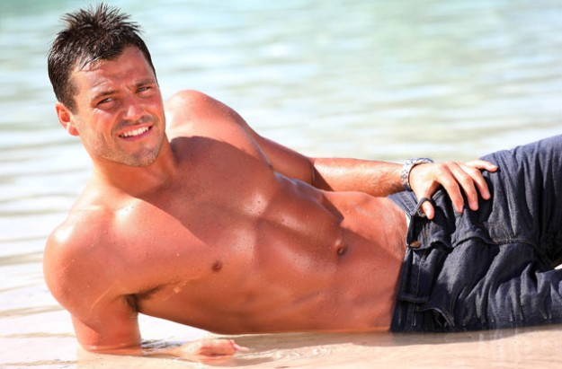 Mark Wright topless
