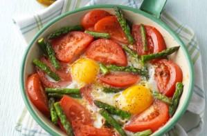 Morrocan tomatoes dish