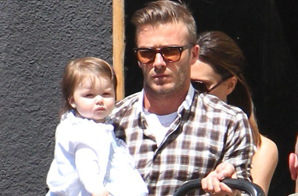 Happy birthday harper beckham