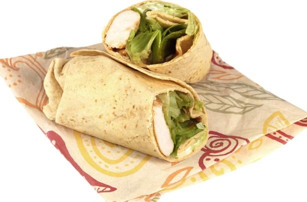 Nandos chicken wrap